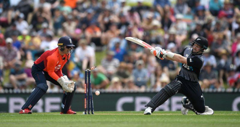 Matt Parkinson took his first wicket for England