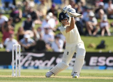 The big six: Joe Denly leads the way for patient England