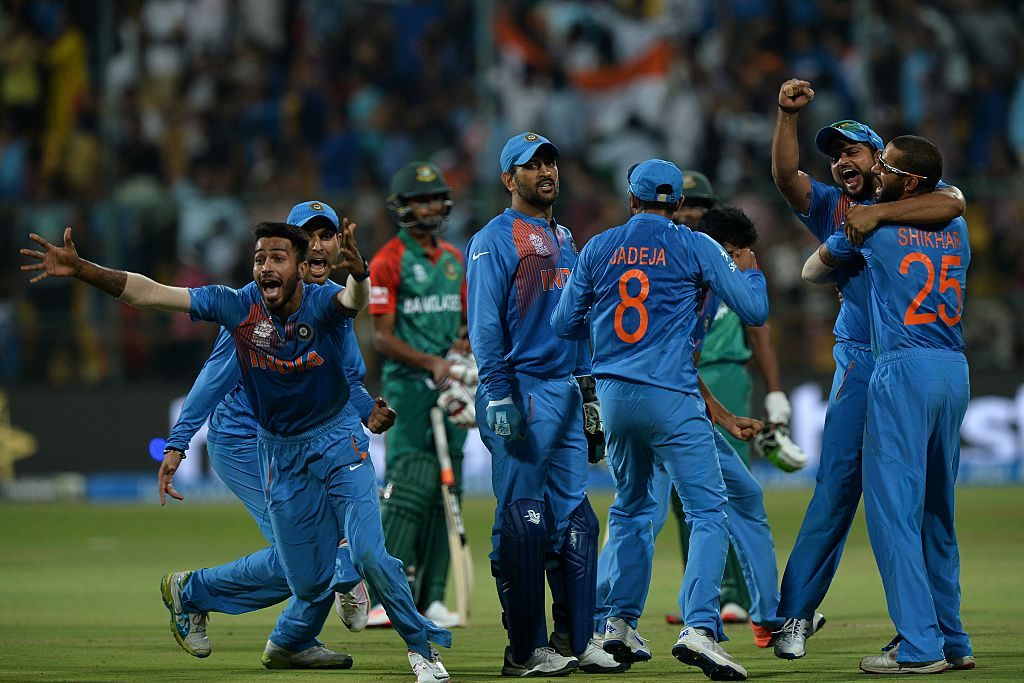 India pulled off a heist in the 2016 T20 World Cup that was embarrassing for Bangladesh