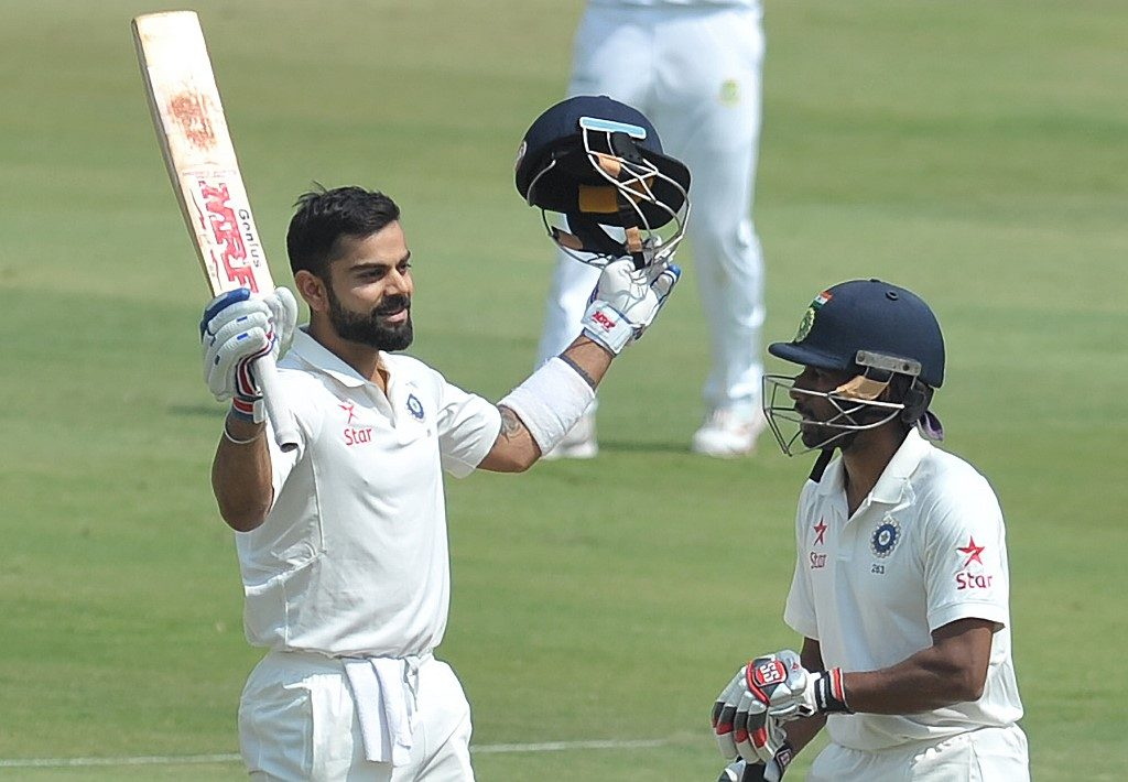 Virat Kohli the batsman was matched by Virat Kohli the India captain