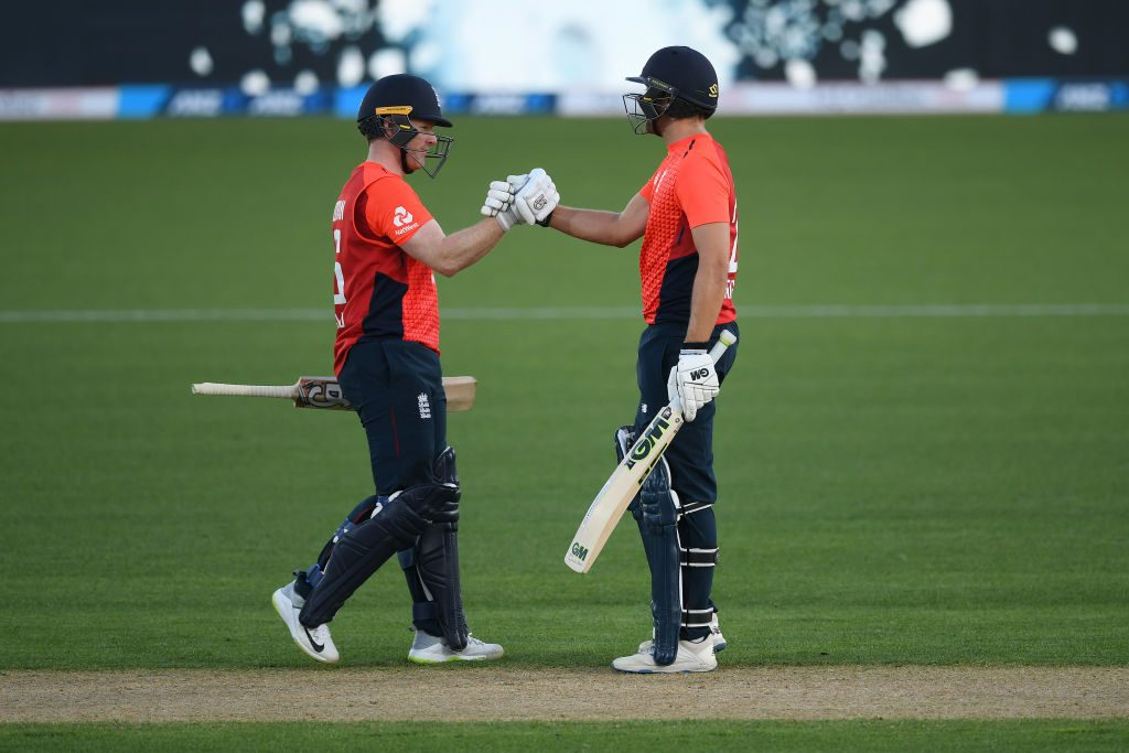 Dawid Malan and Eoin Morgan put on England's highest partnership in T20Is