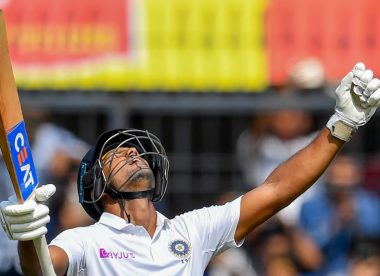 The big six: India dominate again with Mayank Agarwal double century