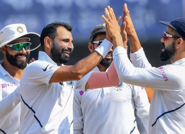 Second-innings Shami the star of India's greatest pace attack