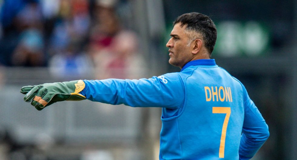 MS Dhoni has been dropped from the central contracts list