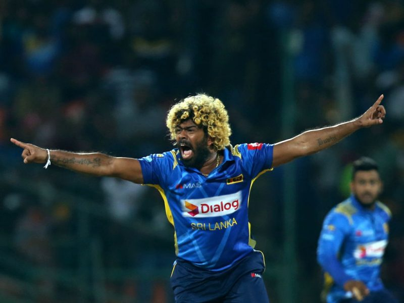 Lasith Malinga, one of the first names in the T20I Team of the Decade