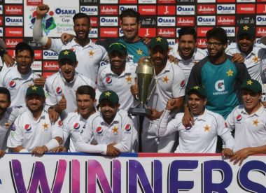 Naseem Shah five-for leads Pakistan to historic series win