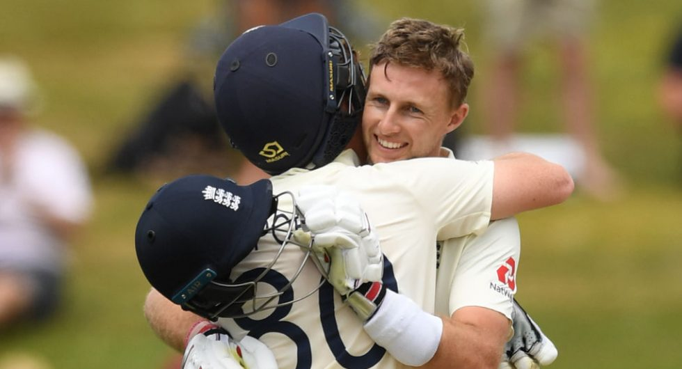 Joe root and ollie pope