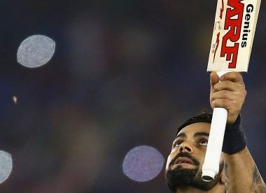 Men's T20I innings of the decade, No.4: Commander-in-chase Kohli flays Australia
