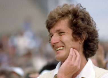How Bob Willis awoke a desolate nation in all his 'raging glory'