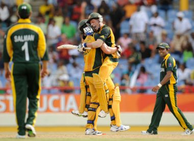 Men's T20I innings of the decade, No.5: Mike Hussey turns his freak on