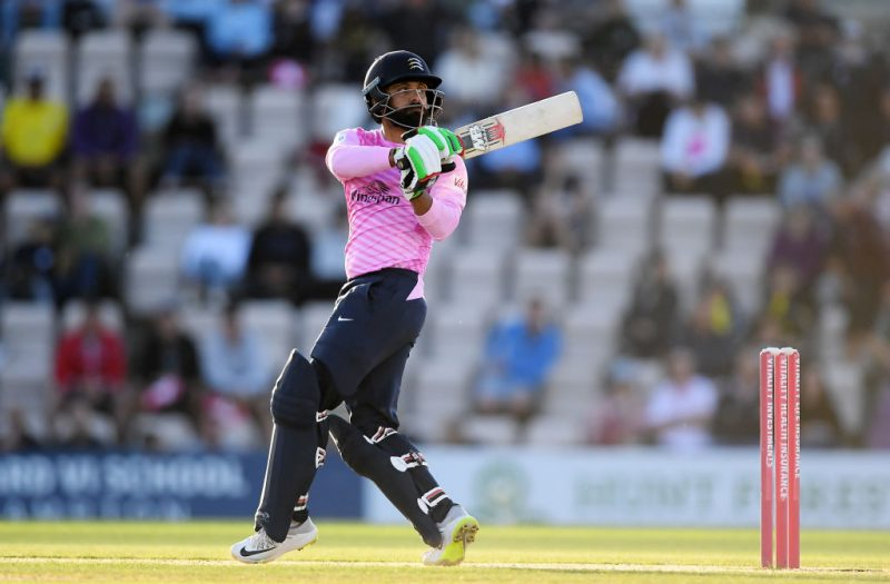 Mohammad Hafeez scored 115 runs at a strike rate of 112.74 in four outings for Middlesex