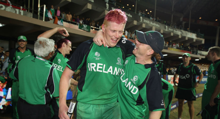 Kevin O'Brien was the hero of Ireland's unlikely triumph over England in the 2011 World Cup