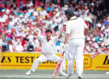 Blast from the past: Richard Hadlee makes history against Australia
