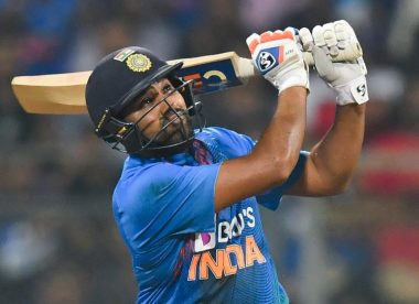 Rohit Sharma hits 400th international six, third Indian in top 10