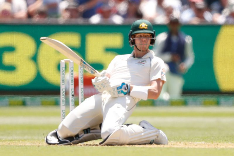 Steve Smith attempted evasive action. Or did he?