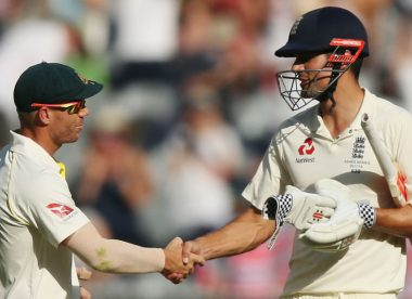 Cook on Warner: 'Sometimes I watch him bat and I'm incredibly jealous'