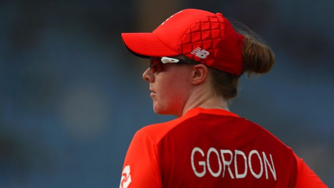 Kirstie Gordon misses out on England squad for T20 World Cup
