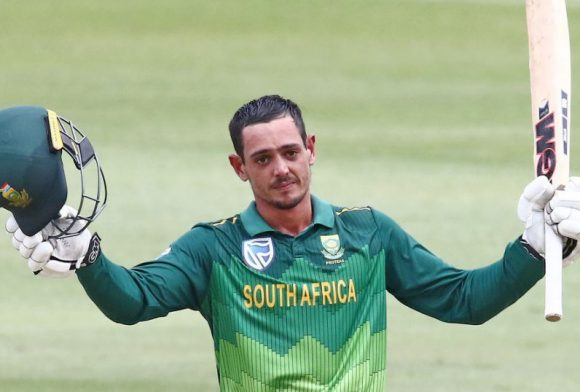 Quinton de Kock replaces Faf du Plessis as South Africa ODI captain
