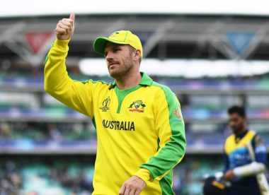 Finch the captain sets the foundation for yet another ODI win