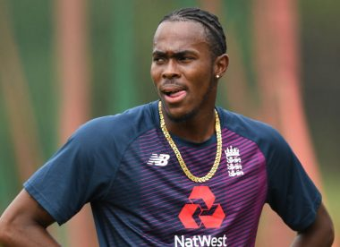 Jofra Archer in doubt for Cape Town Test after elbow injury
