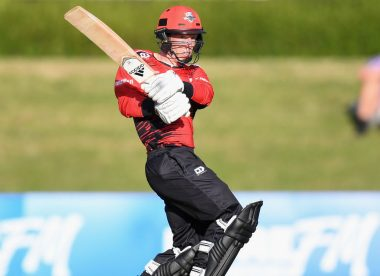 Watch: New Zealand first-class batsman smashes six sixes in a T20 over