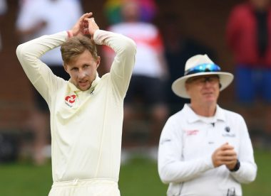 Dom Sibley narrowly avoids injury after Joe Root variation goes wrong