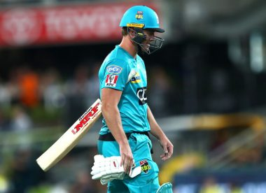 Watch: Brisbane Heat suffer worst collapse in BBL history