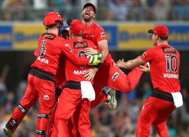 The five teams in the Big Bash 2019/20 knockouts