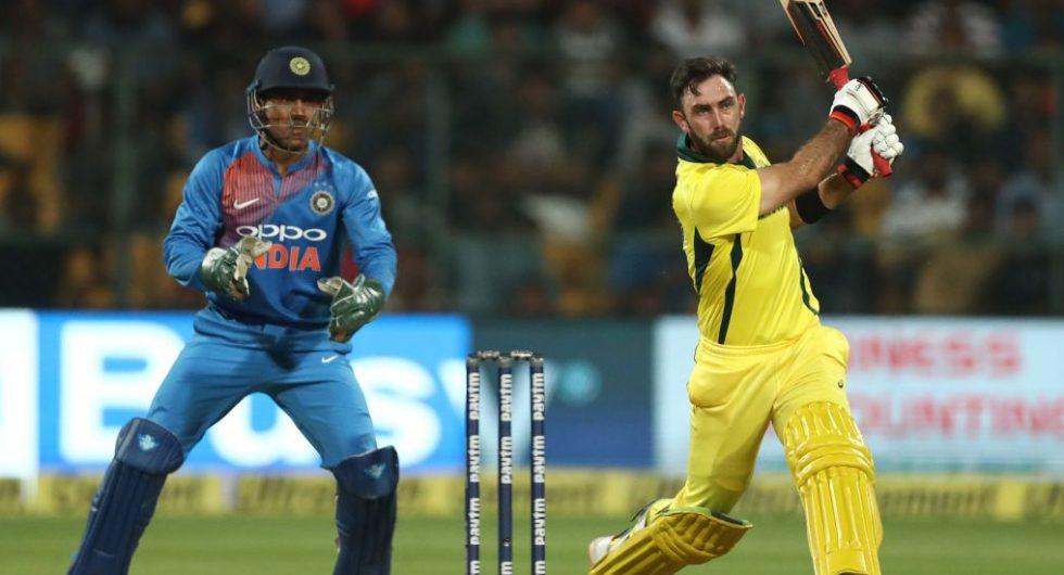 Glenn Maxwell v India, one of the T20I innings of 2019