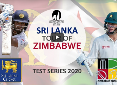 Watch live: Zimbabwe v Sri Lanka, 1st Test