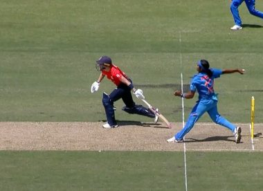 Controversial no-ball call helps India overcome England in first T20I
