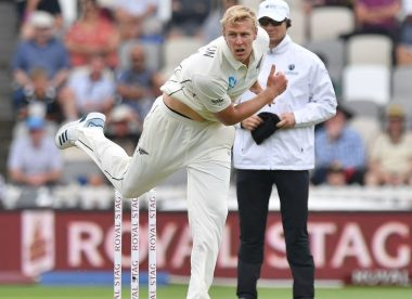 Debutant Jamieson exposes India's familiar frailties
