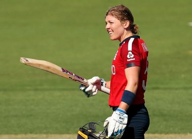 Heather Knight establishes all-time record with T20 World Cup ton