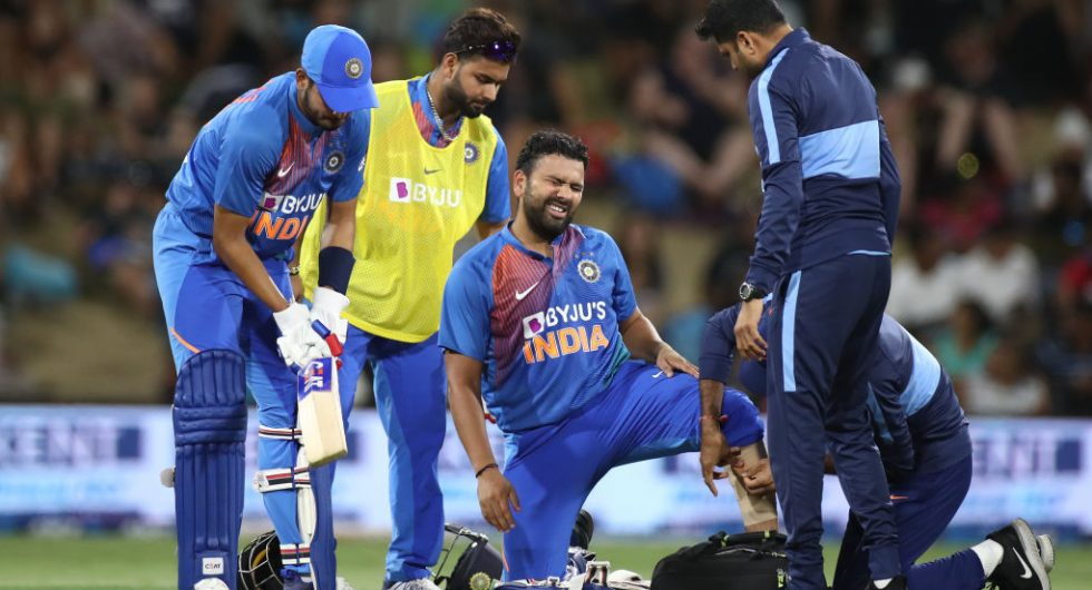 Rohit Sharma injury