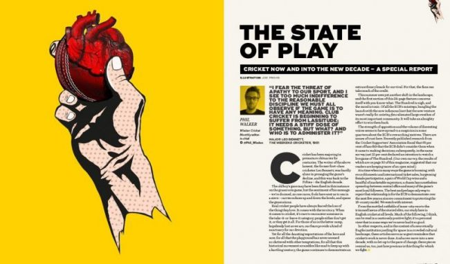 Latest issue: English cricket state of play special