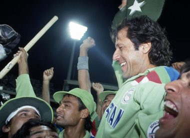 On this day 1992: Imran Khan leads his 'cornered tigers' to World Cup glory