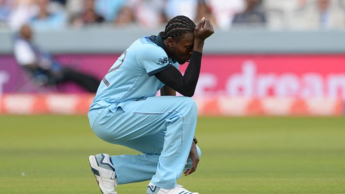 Jofra Archer tried to review first-ball wide in World Cup final super over