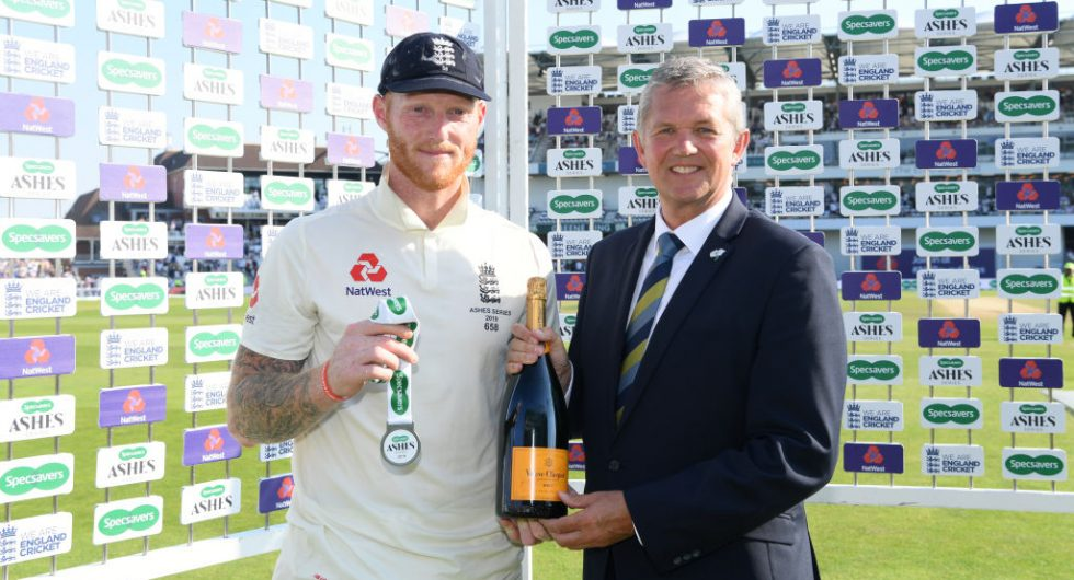 England Player of the Match award