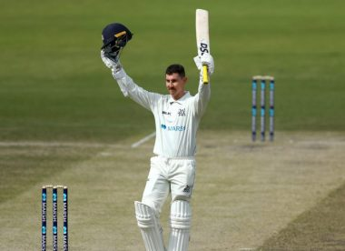 Moises Henriques and Nic Maddinson share Shield player of the year award