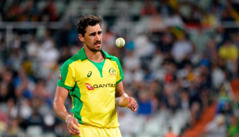 Image result for michell starc in t20