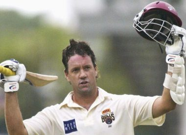 Why did Stuart Law only play one Test for Australia?