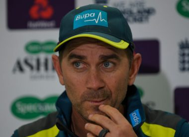 Justin Langer wanted bin kick scene cut from The Test documentary