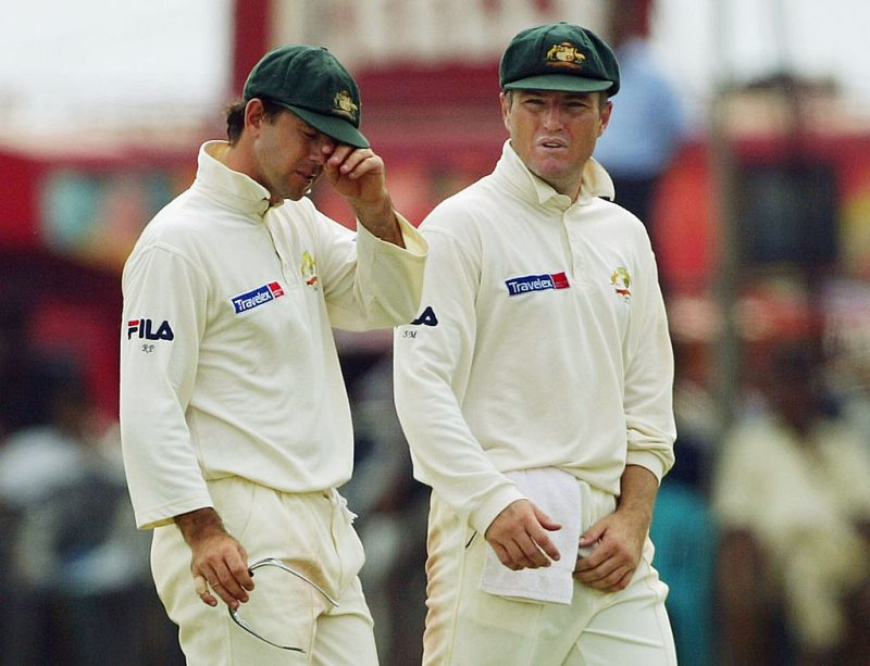 Ricky Ponting retrieved the old Test shirt worn during his first match as Australia captain
