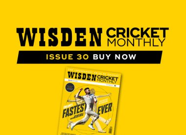 Wisden Cricket Monthly issue 30: Mark Wood – Hometown Glory