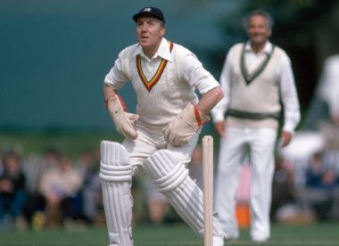 John Murray: A superlative wicketkeeper and a perfect team man