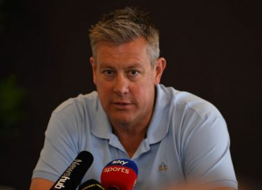 'I'm very proud of our players': Giles hails England cricketers for donation