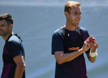 Stuart Broad: I won't play on as long as James Anderson