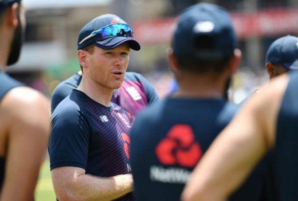 Eoin Morgan: Playing behind closed doors would be 'a huge step forward'