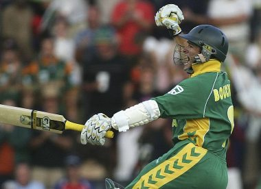 Mark Boucher picks out his career-defining moments