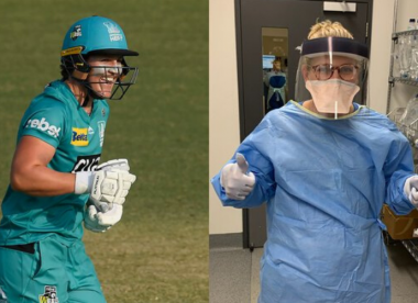 Brisbane Heat batter fighting Covid-19 as emergency nurse in Australia